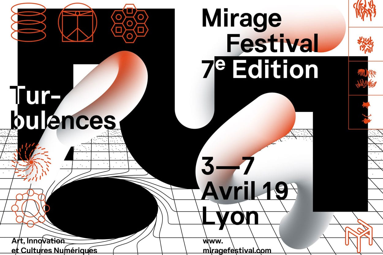 Mirage Festival, 7e édition, Turbulences, du 3 au 7 avril 2019 aux Subsistances à Lyon